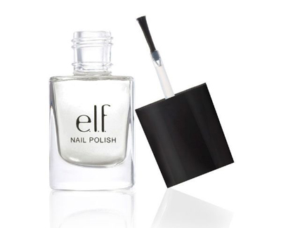 matte finisher clear nail polish e.l.f. 1